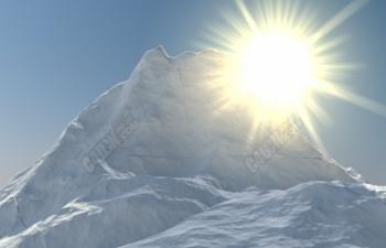 高精度写实雪山zncw-snow