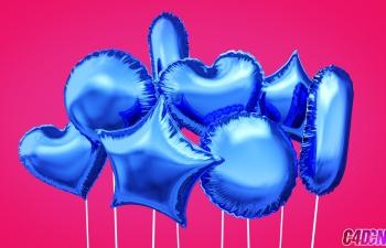 GSG368.使用布料动力创建气球C4D教程