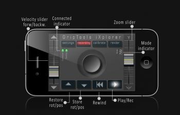 C4D插件 苹果手机控制C4D相机运动插件 Camera GripTools V3.0 Demo