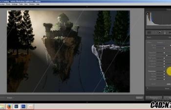 C4D梦幻天堂建模到渲染(俄语教程)