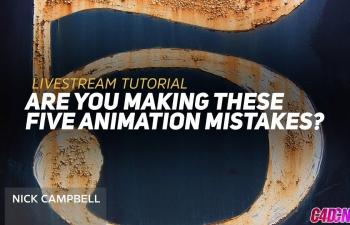 GSG387.你在Cinema 4D中制作这5个动画错误吗?C4D教程