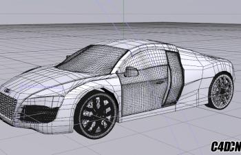 規則布線汽車模型 沒轉C