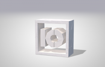 纸感C4D模型