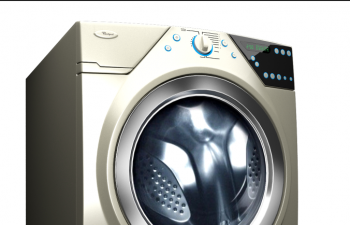 滚动全自动洗衣机模型