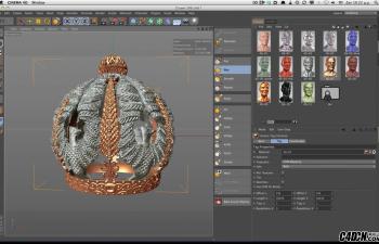 CINEMA 4D    雕刻功能在CINEMA 4D中的使用详解
