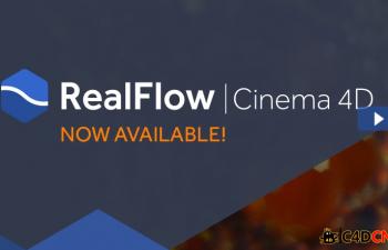 RealFlow For C4D内置插件 Demo版
