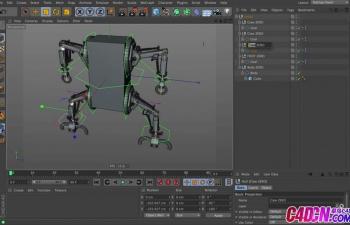 GSG210.ROBOT ARM CHARACTER RIGGING TUTORIALC4D教程