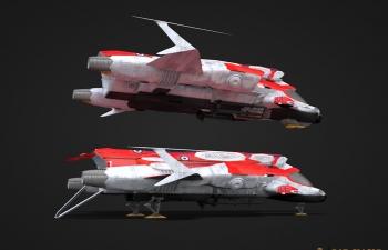 Kameri飞船模型(起飞降落形态)