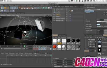 GSG079如何在Cinema 4D中优化场景以更快地渲染C4D教程