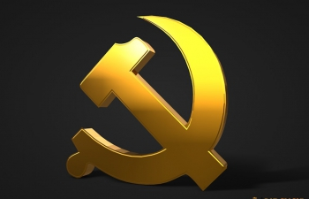 C4D党徽模型
