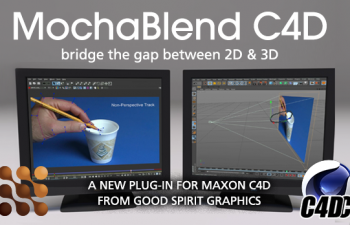 MochaBlend for C4D 追踪反求插件