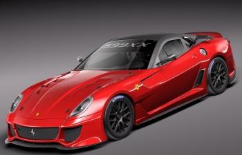 法拉利599XX賽車模型