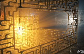 C4D三维迷宫脚本——AutoMaze