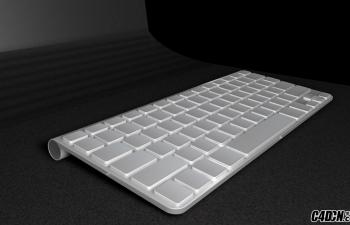 苹果蓝牙键盘NUKEI复合物材质练习