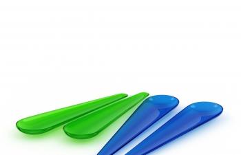 C4D模型 塑料调料勺子厨具用品模型