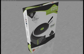 C4D产品商品纸盒子包装建模渲染教程 Box Packaging and Labeling in Cinema 4d