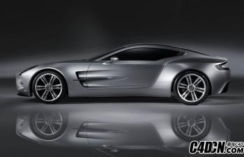 C4D模型 赛车高精模型 跑车
