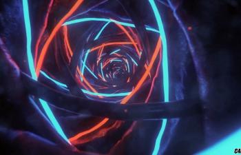 C4D精品工程 No.171 宇宙流光粒子虫洞穿梭