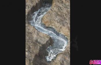 C4D流体动画-地形搭建-碰撞-烟雾-泡沫
