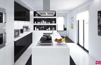 C4D模型 现代厨房室内设计厨具用品模型合集