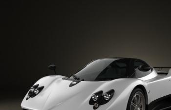 帕加尼 Zonda F超跑模型