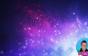 C4D教程 Octane渲染器漂亮粒子制作材质渲染教程