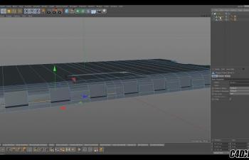 C4D教程-行李箱建模