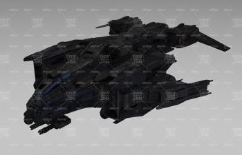 星球大戰科幻戰機飛船戰斗機C4D模型