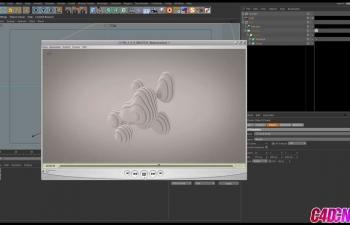 C4D教程 布爾工具配合融球模擬切片動畫教程