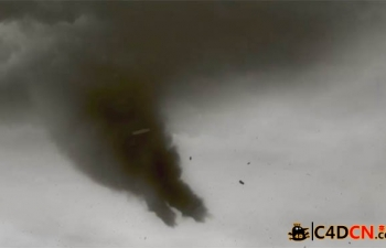 C4D特效教程第二季:龙卷风VFX Cinema 4D Training - Volume 2 Killer Tornado