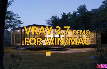 C4D渲染器插件 VRAY 3.7.001 DEMO FOR WIN/MAC
