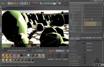 CINEMA 4D    大型自然场景完整制作训练视频教程