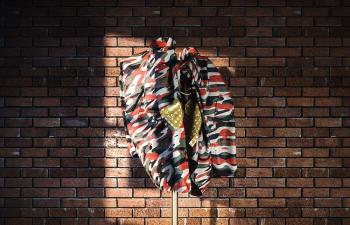 Octane渲染器强角落衣物架衣架外套行李箱模型