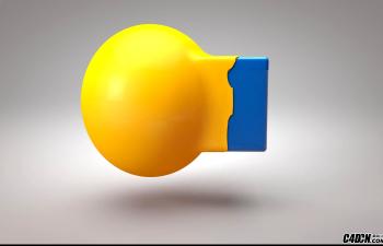 CINEMA 4D教学——变形碰撞的应用实例