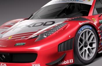 法拉利458GT3房車賽賽車