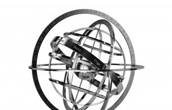 C4D模型 星幻地球仪摆件装饰品模型