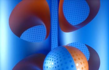 Octane渲染器艺术球体C4D模型