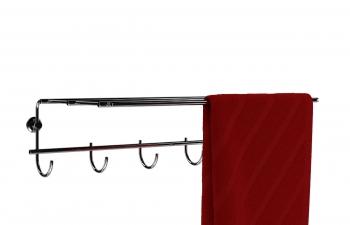 C4D模型 多功能洗手间毛巾挂衣钩晾衣架模型