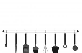 C4D模型 厨房厨具组合模型