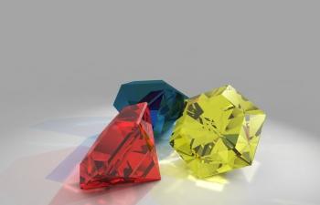红蓝黄钻石系列