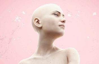 Octane渲染器闭眼冥想的女人体模特C4D模型