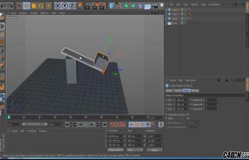 CINEMA 4D——魔术重力插件Magic-Gravity