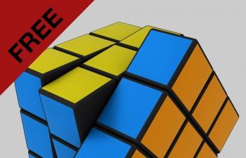 C4D插件 神器魔方脚本工程文件 Magic Cube Script