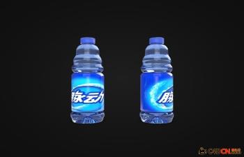 C4D脉动饮料瓶包装模型