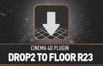 Drop2 To Floor FOR C4DR23 对齐地面插件