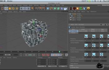 C4D插件 Greebler建筑插件破解版附带教程