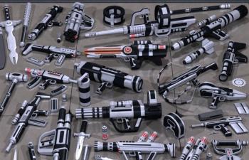 科幻武器资源包