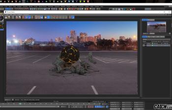 CINEMA 4D动画教程——碰撞