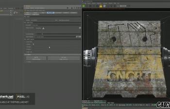 C4D脚本 Octane渲染器材质脚本 Pxl - Dirt Rig for Octane Cinema 4D
