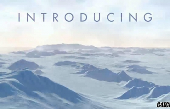 C4D 无限北极雪山 冰川 预设汉化版 Infinite Arctic For Cinema 4D WINMAC